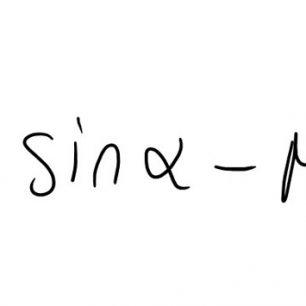 Obr. 4 Fl je síla, jež působí lyžař na svah, FG je tíhová síla sněhu na okolí lyžaře, α je sklon svahu a µ0 je tření mezi vrstvami sněhu