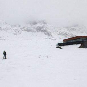 Kousek od chaty Schönwieshütte (2266 m)
