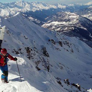 Gruzínské skialpování s G3 SENDr 112